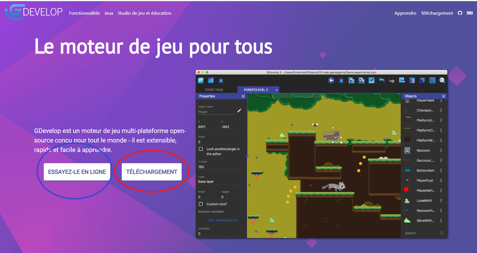 https://makeyourgame.fun//upload/users/Lyxyz/tuto_install_gdevelop/home_page_gdevelop-5e9d9d4ea7877.png